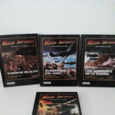Cine: 4 DVD LIBRO DOCUMENTALES AVIACION. Lote 149835362