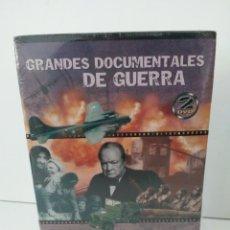 Cine: 2 DVD GRANDES DOCUMENTALES DE GUERRA. Lote 149835406