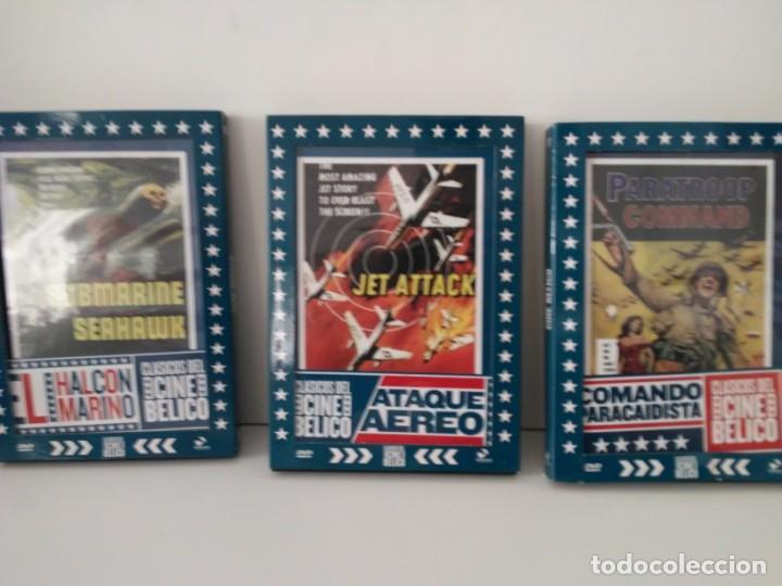 3 DVD PELICULAS BÉLICAS (Cine - Folletos de Mano - Bélicas)