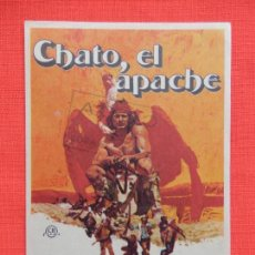 Cine: CHATO, EL APACHE, IMPECABLE SENCILLO, CHARLES BRONSON, CON SELLO PUBLI COCA. Lote 149945970