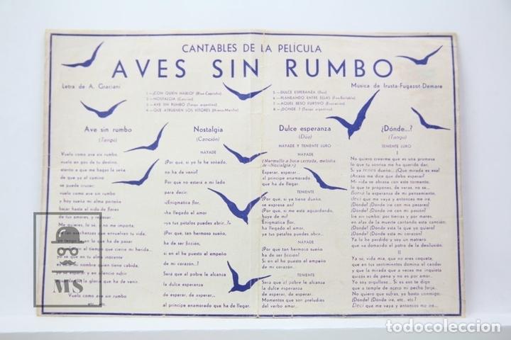 Cine: Programa de Cine Doble - Aves Sin Rumbo / Trini Moren Ketty Moreno - Orphea Film - Sin Publicidad - Foto 2 - 150077758