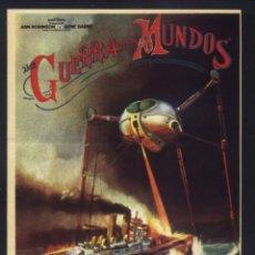Cine: P-7807- LA GUERRA DE LOS MUNDOS (THE WAR OF THE WORLDS) GENE BARRY - ANN ROBINSON - LES TREMAYNE. Lote 150556474