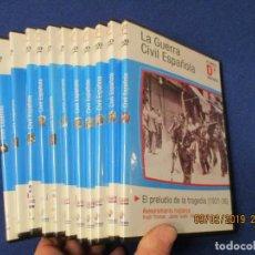 Cine: LA GUERRA CIVIL ESPAÑOLA 11 DVD PLANETA HISTORIA 2002. Lote 150614250