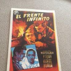 Cine: EL FRENTE INFINITO SIN PUBLICIDAD. Lote 150759862