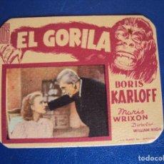 Cine: (PG-190205)EL GORILA - BORIS KARLOFF. Lote 150793558