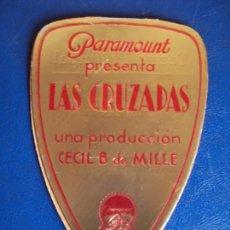Cine: (PG-190214)LAS CRUZADAS - TROQUELADO . Lote 150798622