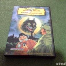 Flyers Publicitaires de films Anciens: SHERLOM HOLMES DIBUJOS ANIMADOS DVD. Lote 150937838