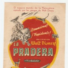 Cine: LA PRADERA - WALT DISNEY - CIFESA. Lote 150946166