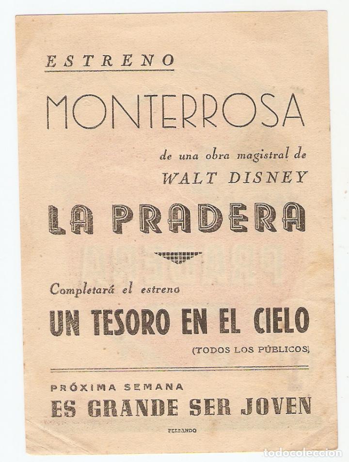 Cine: LA PRADERA - WALT DISNEY - CIFESA - Foto 2 - 150946166
