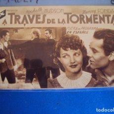 Cine: (PG-190279)A TRAVES DE LA TORMENTA - CINE GOYA . Lote 151095770