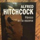 Cine: ALFRED HITCHCOCK- PÁNICO EN LA ESCENA - DVD+ LIBRO EDITA MGM-COLECCIONABLES. Lote 148838974
