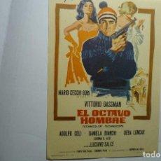 Cine: PROGRAMA EL OCTAVO HOMBRE - VITTORIO GASSMAN. Lote 151368010