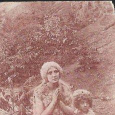 Cine: PROGRAMA DE CINE EN CARTÓN - GENOVEVA DE BRABANTE - LILLY MARISHCKA - AUSTRIA - 1920.. Lote 151417550