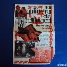 Cine: (PG-190334) LA QUIMERA DE HOLLIWOOD - . Lote 151510370