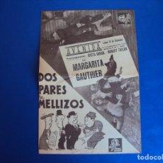 Cine: (PG-190345) DOS PARES DE MELLIZOS - AVENIDA. Lote 151511962