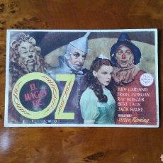 Cine: PROGRAMA DE MANO. CINE. EL MAGO DE OZ. (ORIGINAL) 1939 - PERFECTO.. Lote 151569597