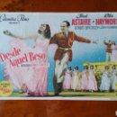 Cine: PROGRAMA DE MANO. CINE. DESDE AQUEL BESO. (ORIGINAL) 1951. - PERFECTO.. Lote 151569992
