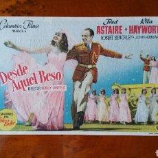 Cinema - Programa de mano. Cine. DESDE AQUEL BESO. (Original) 1951. - PERFECTO. - 151569992