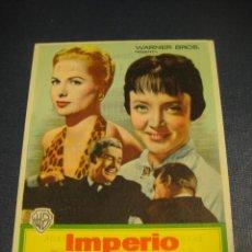 Cine: IMPERIO DE TITANES - TEATRO CIRCO Y SALON NOVEDADES. Lote 151570854