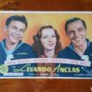 Cine: PROGRAMA DE MANO. CINE. LEVANDO ANCLAS (ORIGINAL) 1949 - PERFECTO.. Lote 151572301