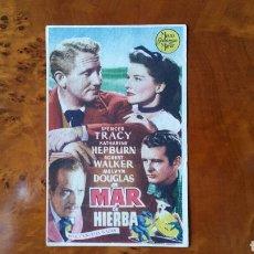 Cine: PASE DE MANO. CINE. MAR DE HIERBA (ORIGINAL) 1948.. Lote 151572642