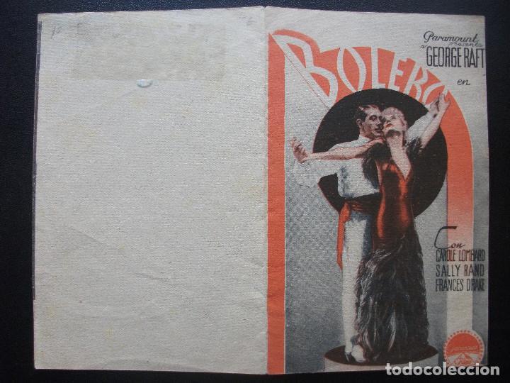 Cine: BOLERO, GEORGE RAFT, CAROLE LOMBARD - Foto 3 - 151581558