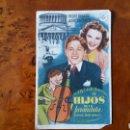 Cine: PROGRAMA DE MANO. CINE. HIJOS DE LA FARÁNDULA (ORIGINAL) 1939.. Lote 151592528