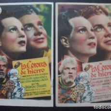 Cine: LA CORONA DE HIERRO, ELISA CEGANI, GINO CERVI, VARIANTE. Lote 151625642