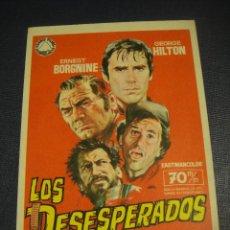 Cine: LOS DESESPERADOS - SIN PUBLICIDAD. Lote 151717962