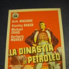Cine: LA DINASTIA DE PETROLEO - CINE REX , ZARAGOZA. Lote 151719890