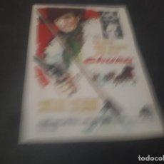 Cine: PROGRAMA DE MANO ORIG - CHUKA - CINE SALON ROSA. Lote 151825906