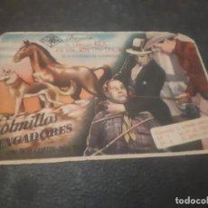 Cine: PROGRAMA DE MANO ORIG - COLMILLOS VENGADORES - CINE DE CADIZ. Lote 151829410