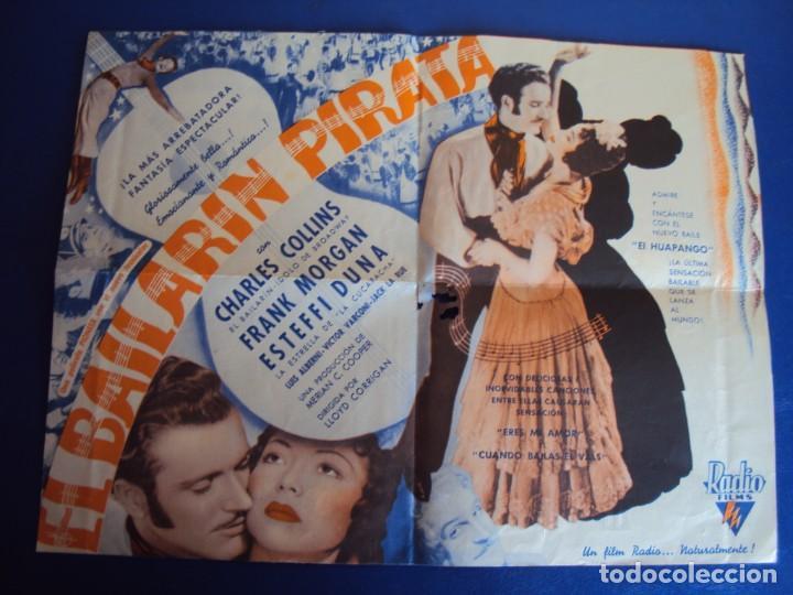 (PG-190391) EL BAILARIN PIRATA - CINE ECHEGARAY - AÑO 1939 (Kino - Filmprogrammhefte - Musicals)