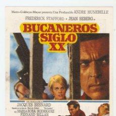 Cine: BUCANEROS SIGLO XX - FREDERICK STAFFORD, JEAN SEBERG - DIRECTOR JACQUES BESNARD - M.G.M.. Lote 151922226