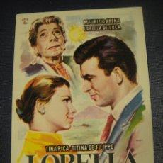 Cine: LORELLA - CINE COSO , ZARAGOZA. Lote 151927078