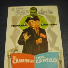 Cine: EL CAMARADA DON CAMILO - CINE ASTORIA , CACERES. Lote 151927418