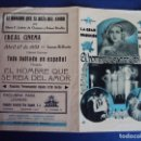 Cine: (PG-190370) EL HOMBRE QUE SE REIA DEL AMOR - IDEAL CINEMA - AÑO 1933. Lote 152007750