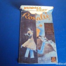 Cine: (PG-190365) ROSALIE - CINE TEATRO GOYA - AÑO 1939. Lote 152009654