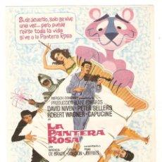 Cine: LA PANTERA ROSA - PETER SELLERS, DAVID NIVEN, ROBERT WAGNER, CAPUCINE - DIRECTOR BLAKE EDWARDS - MAC. Lote 152110434