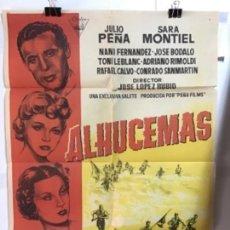 Cine: ALHUCEMAS CARTEL 100X70. Lote 152279598