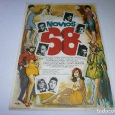Cine: PROGRAMA DE CINE - NOVIOS 68 - ARTURO FERNÁNDEZ, ALFREDO LANDA - 1967 - SIN PUBLICIDAD.. Lote 152449910