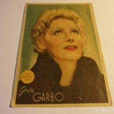 Cine: PROGRAMA DE CINE - MARGARITA GAUTIER - GRETA GARBO, ROBERT TAYLOR - TEATRO CERVANTES - 1941.. Lote 152465358