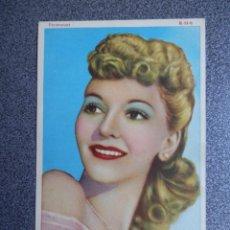 Folhetos de mão de filmes antigos de cinema: MARY MARTÍN - PARAMOUNT CON PUBLICIDAD DE PRODUCTOS BELLEZA RISLER. Lote 152482874