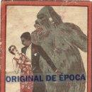 Cine: (PG-190407) EL NEGRO QUE TENIA EL ALMA BLANCA - CINE TEATRO RUIZ - DOMINGO 4 DE NOVIEMBRE DE 1928. Lote 152646370