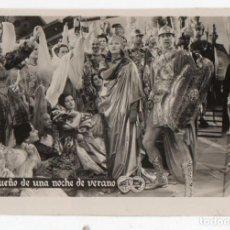 Folhetos de mão de filmes antigos de cinema: PROGRAMA FOTOGRAFÍA EL SUEÑO DE UNA NOCHE DE VERANO. Lote 152938346