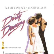 Cine: DIRTY DANCING PROGRAMA ORIGINAL PATRICK SWAYZE (PROMOCION SORTEO POR ATRAS). Lote 153075838