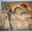 Cine: PROGRAMA DOBLE TROQUELADO - LA VIUDA ALEGRE - MAURICE CHEVALIER, JEANETTE MACDONALD - MGM - 1934 - . Lote 153653930