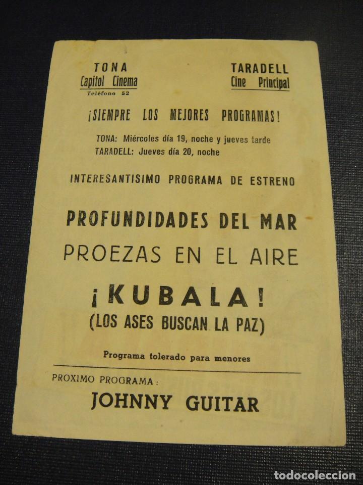 Cine: kubala los ases buscan la paz - cines de tona y taradel - Foto 2 - 153697190
