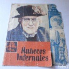 Cine: PROGRAMA DOBLE - MUÑECOS INFERNALES - LIONEL BARRYMORE, MAUREEN O'SULLIVAN - MGM - CENTRAL CINEMA. Lote 153710246