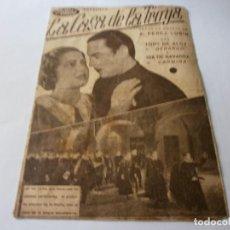 Cine: PROGRAMA DOBLE - LA CASA DE LA TROYA - TONY DE ALGY, ISA DE NAVARRA CINE Y JARDÍN PLUS ULTRA MÁLAGA. Lote 153807754